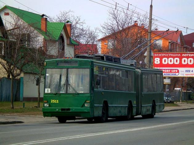 Киевский троллейбус