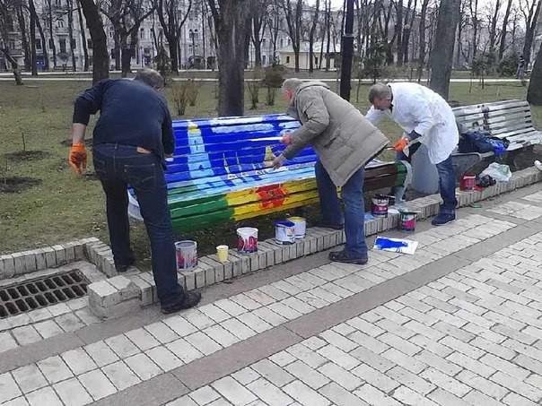 В районах столицы 28 марта прошли субботники