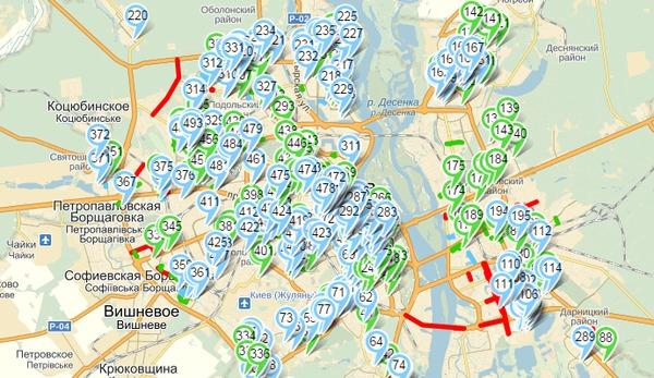 В интернете появилась интерактивная карта ремонтных работ