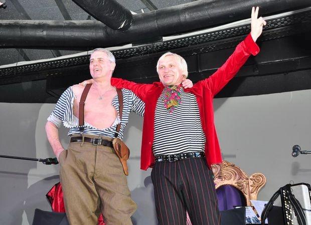 Творческий вечер Леся Подервянского и Олега Скрипки 6 июня в клубе Атлас. Фото day.kiev.ua