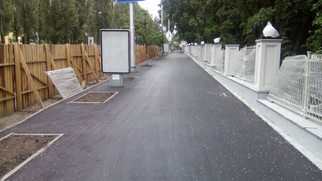 Стоимость проекта реконструкции забора ботсада составляет 8 млн грн.