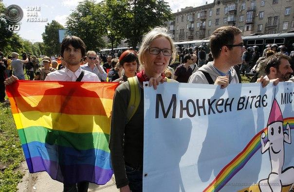 Правый сектор угрожает сорвать акцию ЛГБТ-активистов