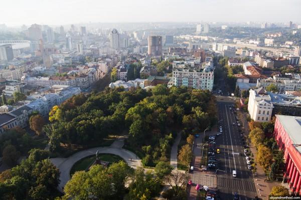 Городские власти спрашивают у киевлян, нужно ли убирать тополя