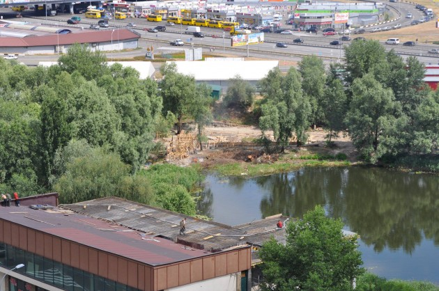 В Киевсовете информации о строительстве нет