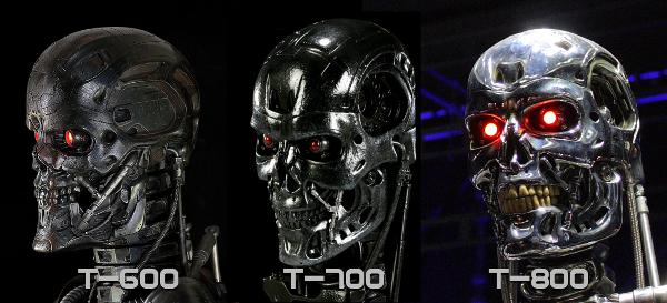 сравнение моделей Т-600, Т-700 и Т-800   (с) scified.com
