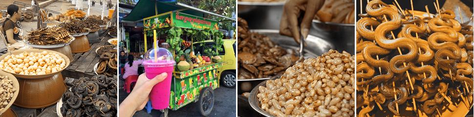 Cambodia, Камбоджа, еда, уличная еда