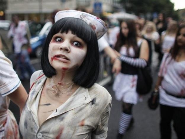 10-й зомби-парад стартует в 17:00 и продлится до утра следующего дня