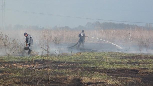 В Барышевском районе тушение даже сопровождалось взрывами