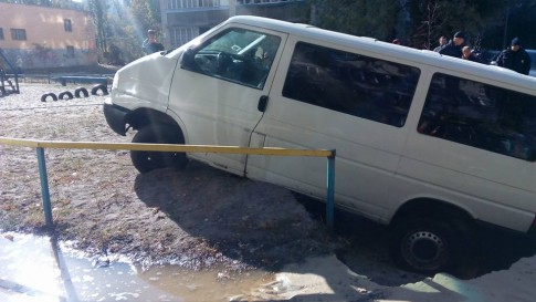 ЧП произошло на улице Маршала Жукова