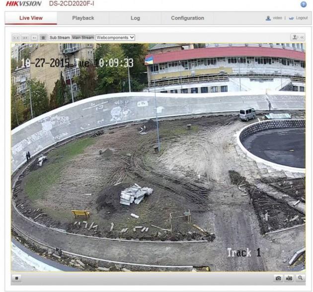 Установлены три камеры, которые круглосуточно осматривают чашу велотрека
