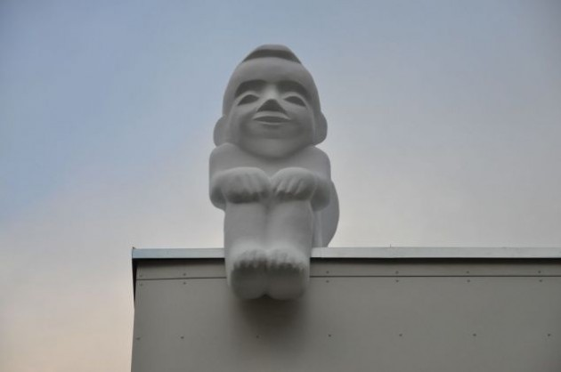 Скульптуру подарила украинцам Литва