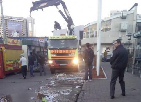 Собственников киосков предупредили о демонтаже