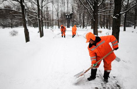 В Киеве разработали карту, на которой указаны все балансосодержатели, ответственные за уборку снега