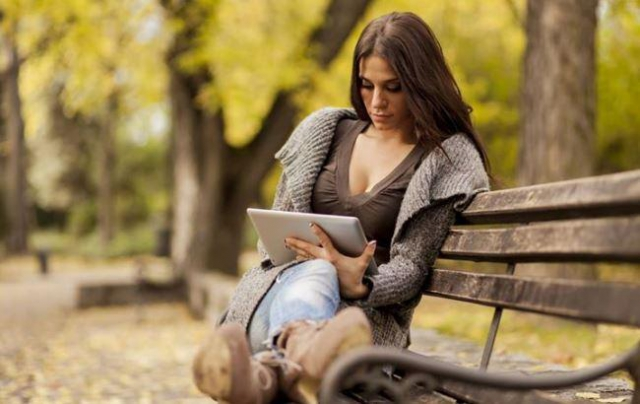 Сейчас воспользоваться интернетом уже можно в районе озер парка