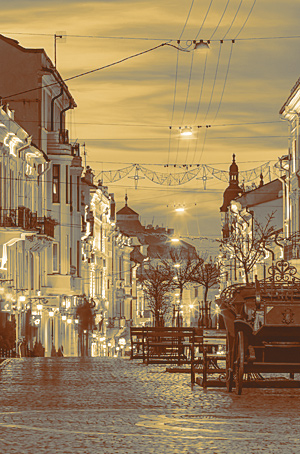 Улица Панская, Черновцы