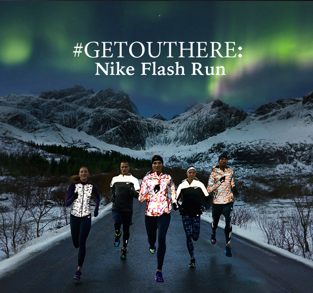 #Getouthere: Nike Flash Run
