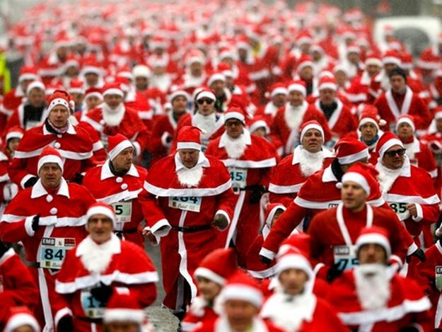 Будет установлен рекорд Украины в категории «Самый массовый забег в новогодних шляпах»