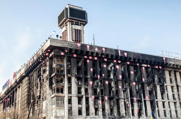 Все работы по восстановлению одного из символов Евромайдана займут 18 месяцев