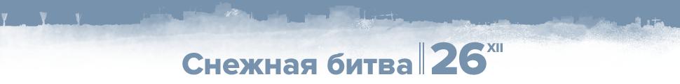 Снежная битва