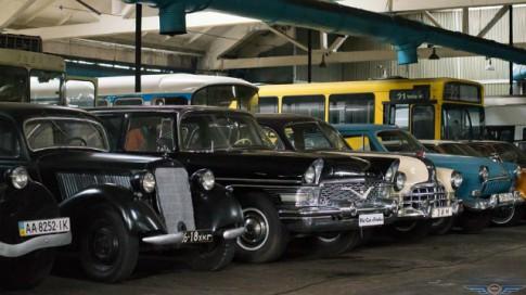 Сейчас в экспозиции представлено 63 единицы транспортных средств
