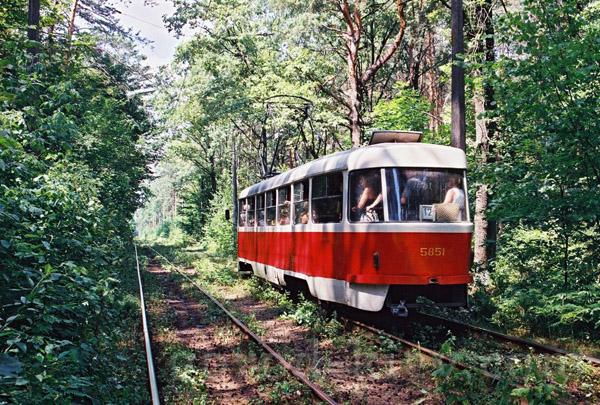 Сегодня временно будет изменен маршрут трамвая №12