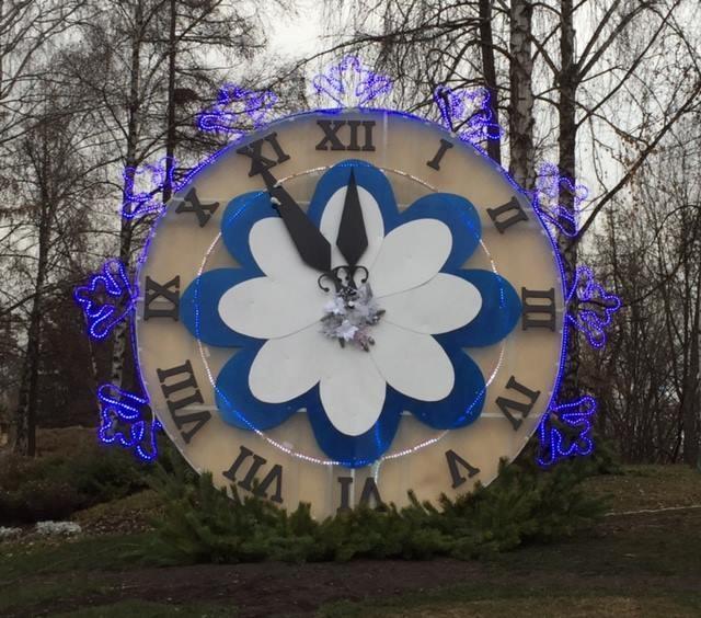 Специалисты «Киевзеленстроя» заканчивают создание «Зимней сказки»