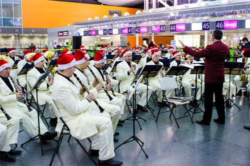 Музыканты сыграют рождественские композиции