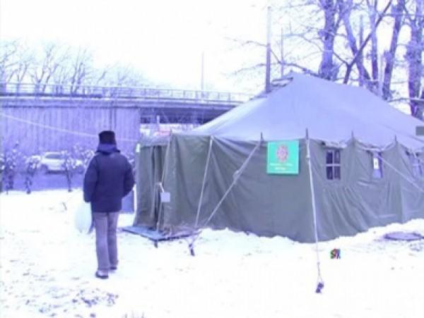 В киевские пункты обогрева может обратиться каждый, кто нуждается в помощи в морозные дни