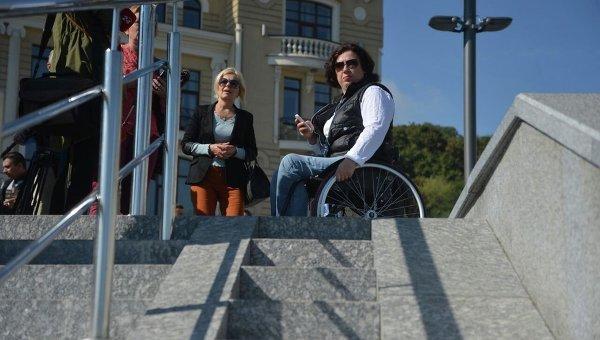 В Киеве 55% людей имеют ограничения в передвижении