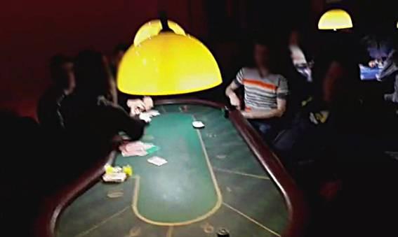В казино действовала сложная система доступа