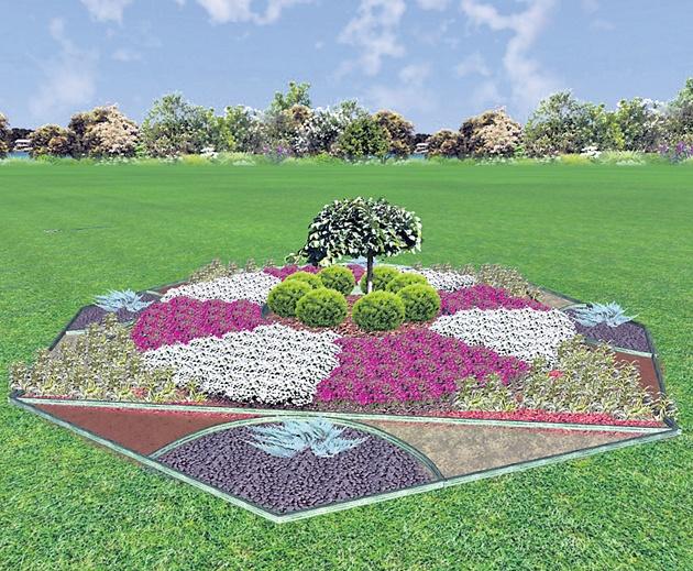 Столицу украсят авторскими клумбами и миллионом цветов