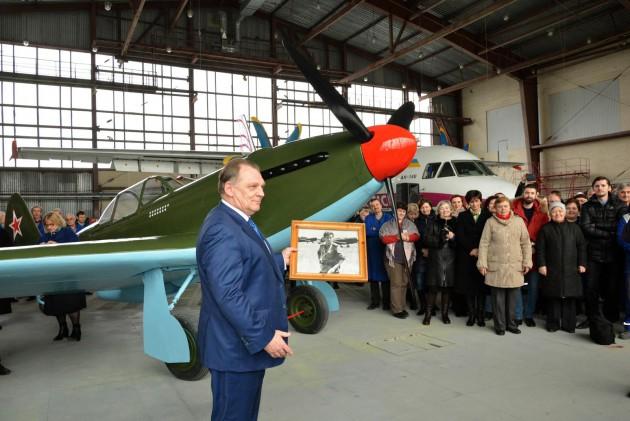 Як-3 участвовал в съемках фильма «В бой идут одни старики»