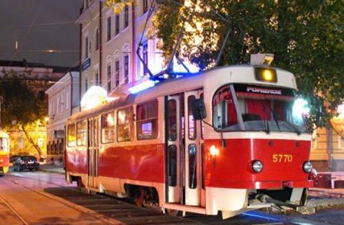 Представление будет проходить во время движения трамвая