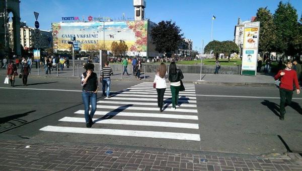 На центральные улицы столицы вернут «зебры»