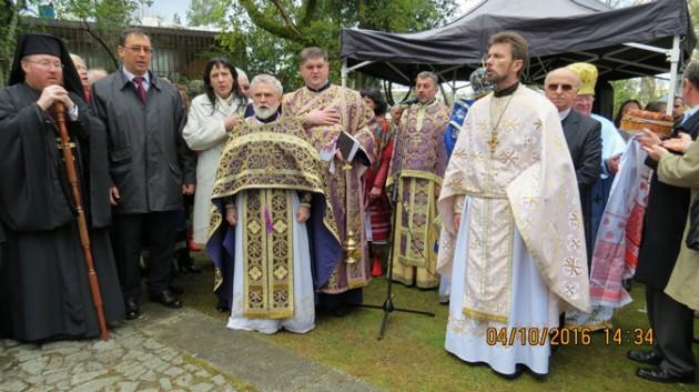 Установка состоялось по инициативе и на средства УПЦ Киевского патриархата