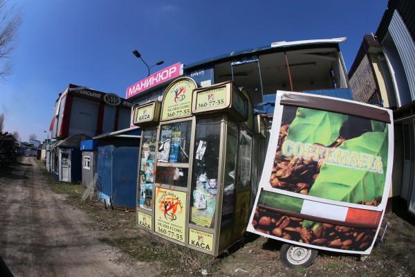Журналисты разыскали место, куда свозят незаконные МАФы, от которых избавляют столицу