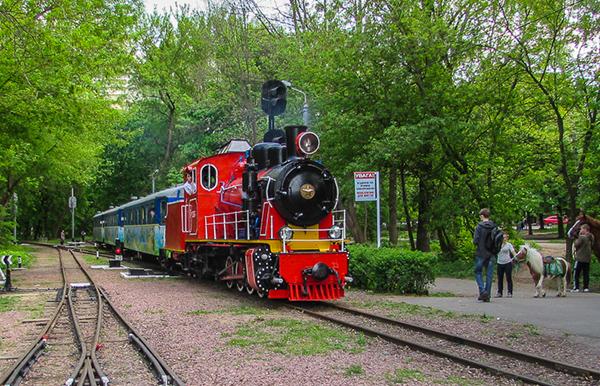 29 апреля на территории Сырецкого парка начнут курсировать детские поезда