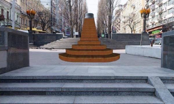 Инсталляция Населяя тени появится на бульваре Тараса Шевченко уже в начале июля