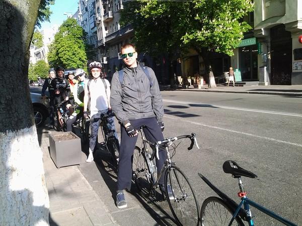 Все больше людей в Киеве пересаживаются на велосипеды
