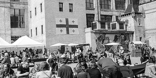 Большое грузинское застолье: как проходил майский Фестиваль Уличной еды в Киеве. Фотоотчет