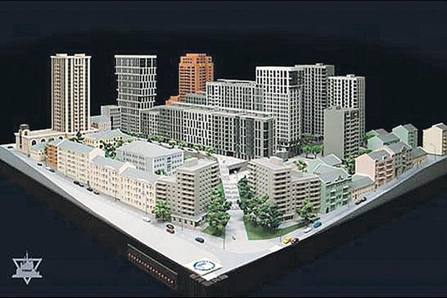 На месте снесенного Сенного планируют построить больше десяти жилых домов