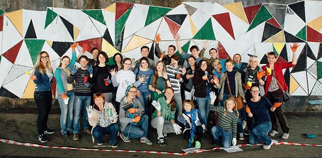 Акцию инициировали активисты из группы «Дивовижні»