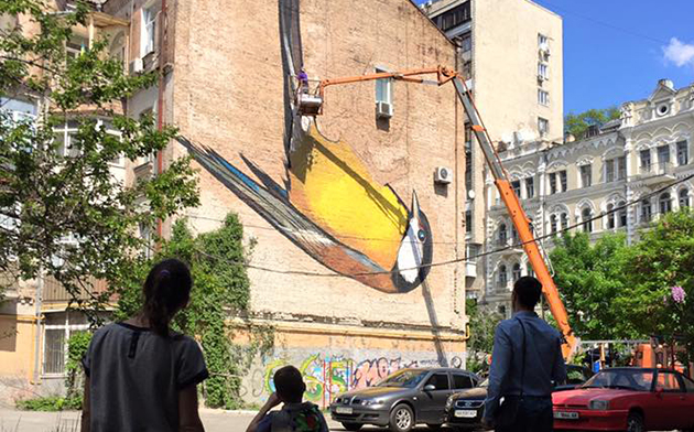 Первый международный фестиваль современного искусства в общественном пространстве Mural Social Club пройдет с 12 мая по 30 июля
