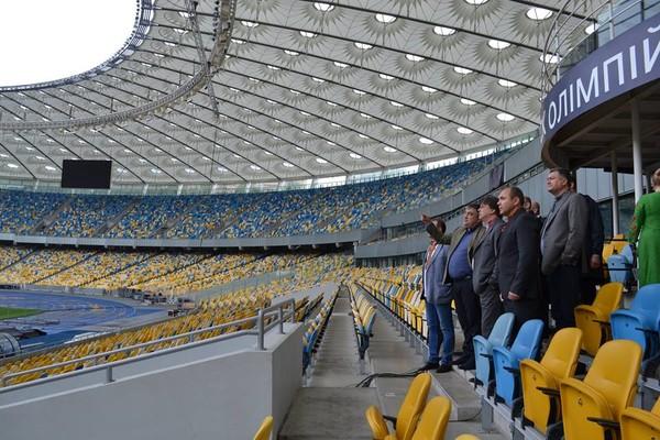 По словам министра молодежи и спорта, НСК Олимпийский способен принять более 40 тысяч зрителей