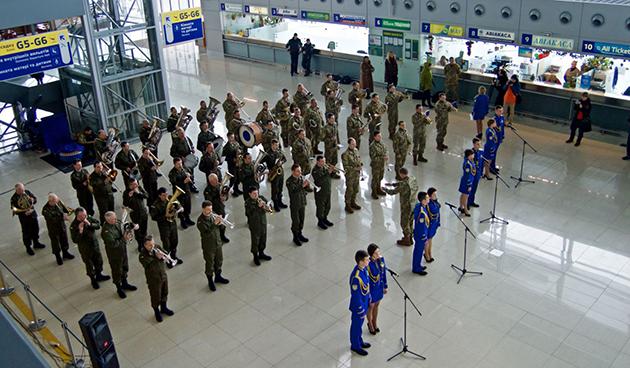 В честь Дня Европы в терминале D исполнят шедевры мировой классики