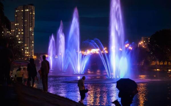 Русановские фонтаны не работали пять лет