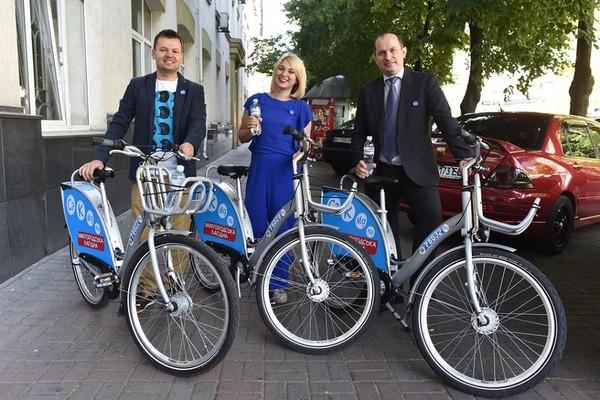 В столице в тестовом режиме запустили систему муниципального велопроката Nextbike