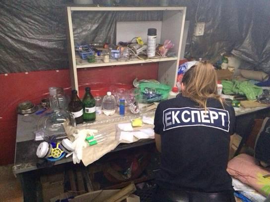 Правоохранители ликвидировали под Киевом нарколабораторию по производству амфетамина