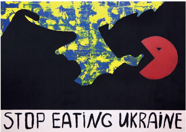 """Все картины написаны в период с 2014 по 2016 год и являются своеобразным """"колоколом"""" траурных событий, которые произошли в Украине"""