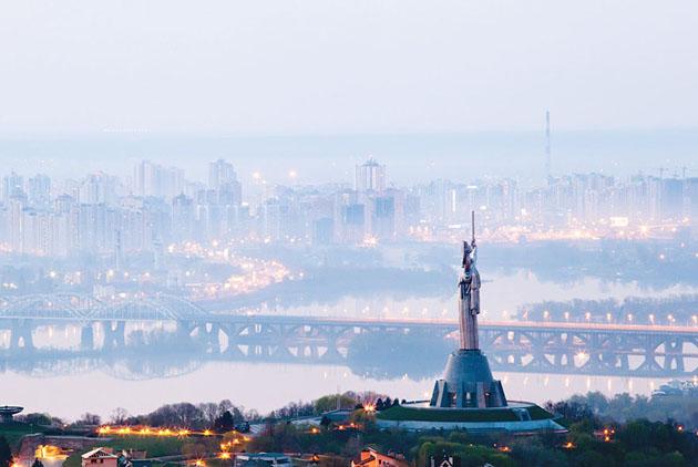 Украинская столица уступила только Минску